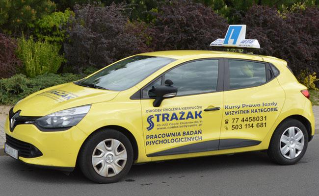 Kurs na prawo jazdy w Opolu